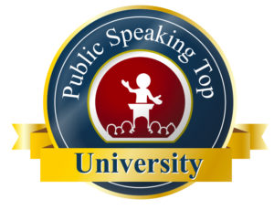 public speaking top University Massimiliano Cavallo