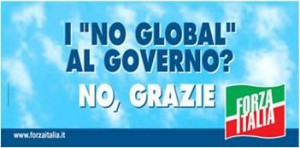 Manifesto Berlusconi Forza Italia 2006