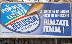 Manifesto Politiche 2008 Berlusconi Pdl