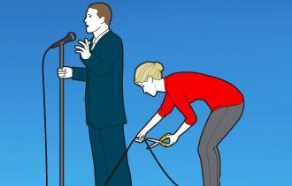 Parlare in pubblico: rassegna di errori