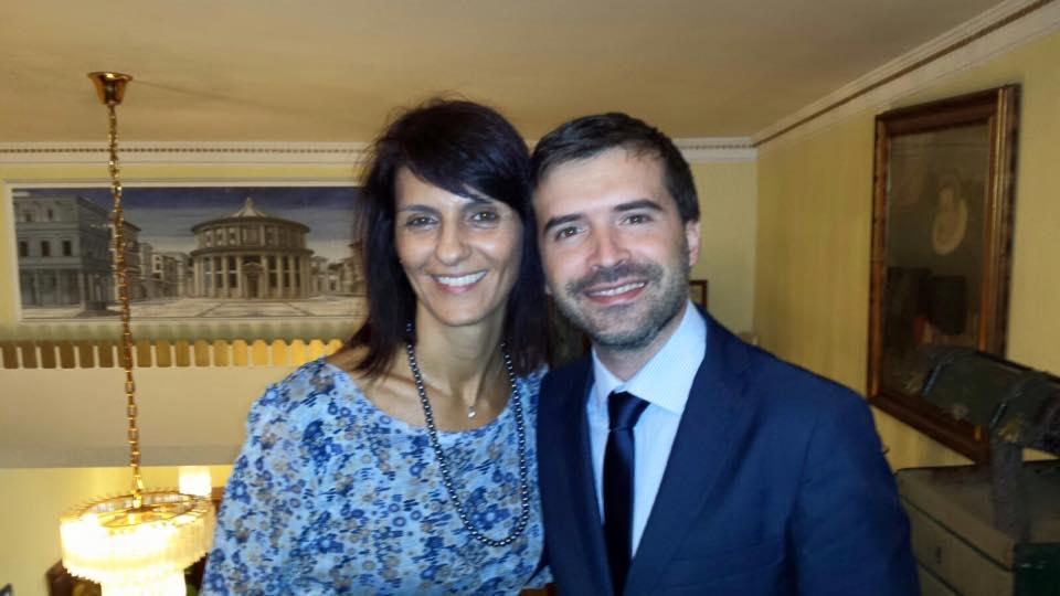 Cristina Guerra al Corso Public Speaking Top di Massimiliano Cavallo