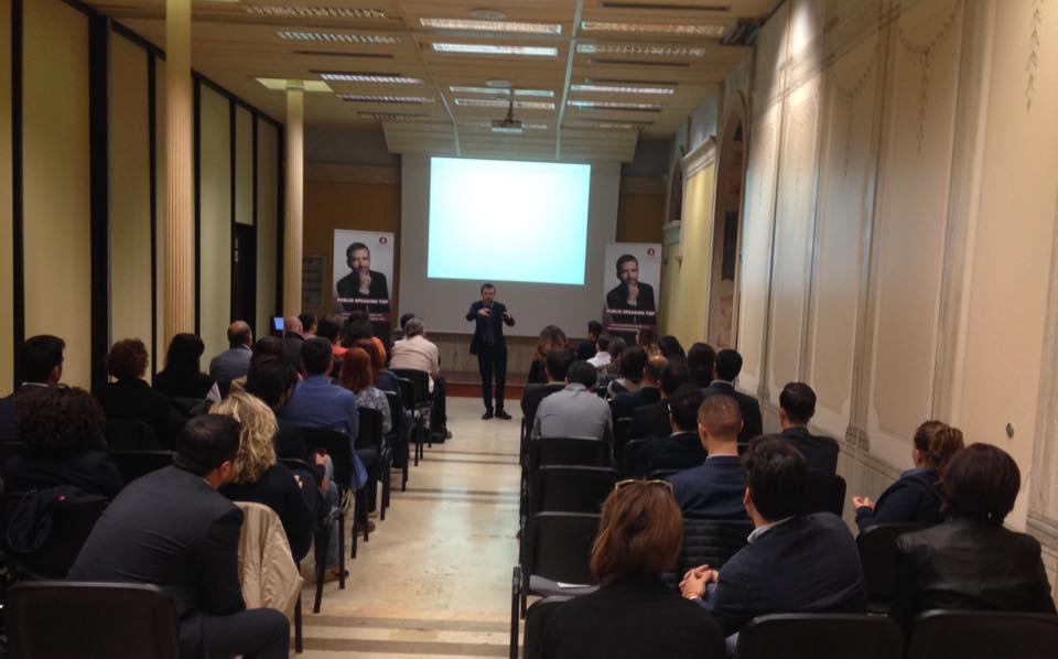 Corsi public speaking Roma Milano napoli cagliari bari Padova