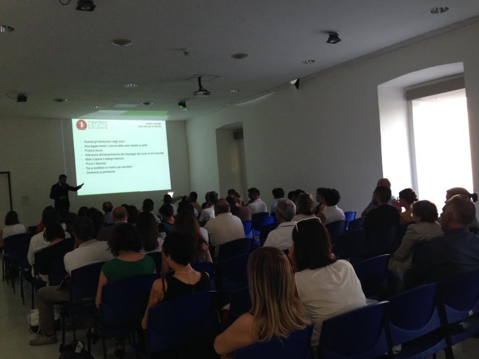 public speaking Cagliari