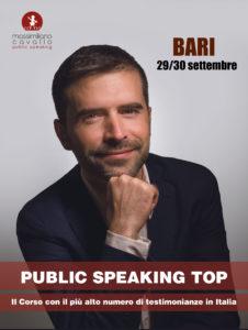 Corso parlare in pubblico bari