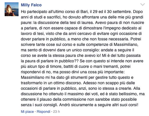 recensioni corso public speaking