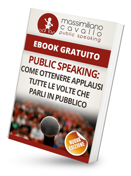 Ebook gratuito di public speaking Massimiliano Cavallo