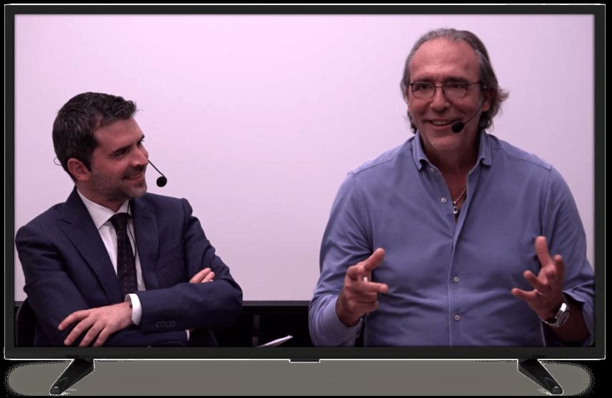 Massimiliano Cavallo e Luca Ward